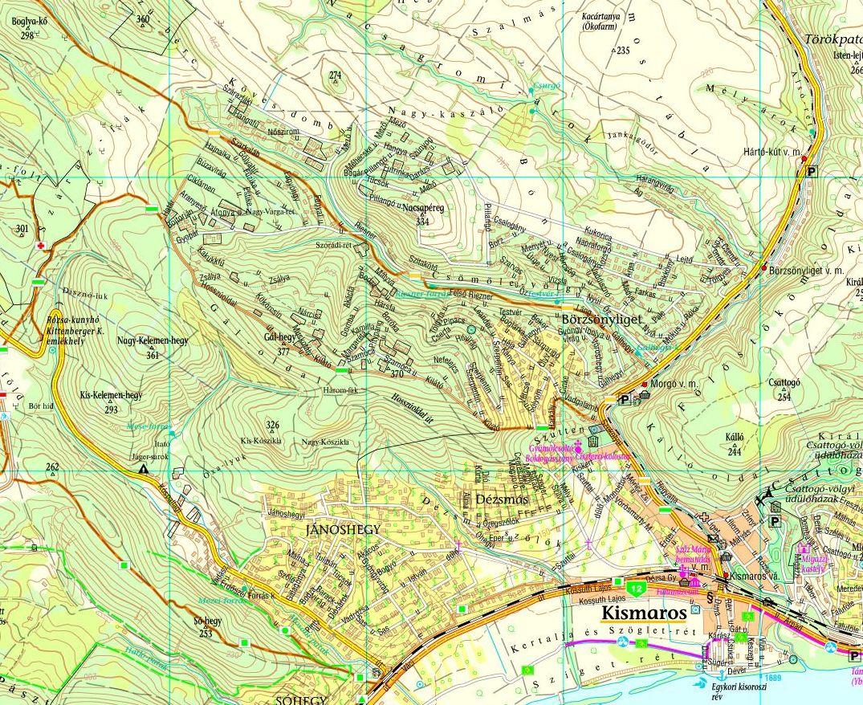 kismaros térkép Egy jó térkép Kismarosról | Kismaros kismaros térkép